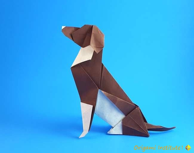 Beagle by Seth M. Friedman《 Dog Origami》.jpg
